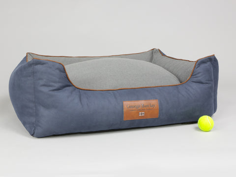 Monxton Orthopaedic Walled Dog Bed - Twilight / Ash, Large