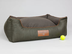 Beauworth Orthopaedic Walled Dog Bed - Coffee Bean, Large