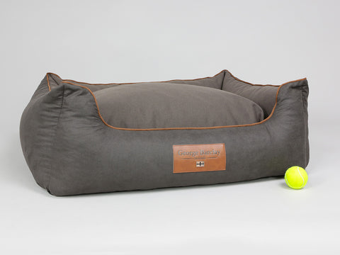 Hursley Box Bed - Chocolate / Chestnut, Large - 90 x 70 x 33cm