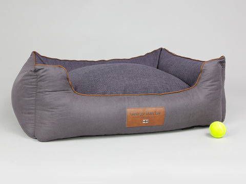 Hursley Orthopaedic Walled Dog Bed - Vineyard / Violet, Large