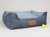 Monxton Orthopaedic Box Bed - Twilight / Denim, Large - 90 x 70 x 33cm