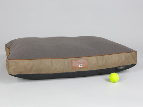 Ashurst Mattress Bed - Chestnut, Large - 100 x 70 x 10cm