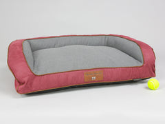 Hursley Sofa Bed - Cabernet / Ash, Medium - 90 x 65 x 22cm