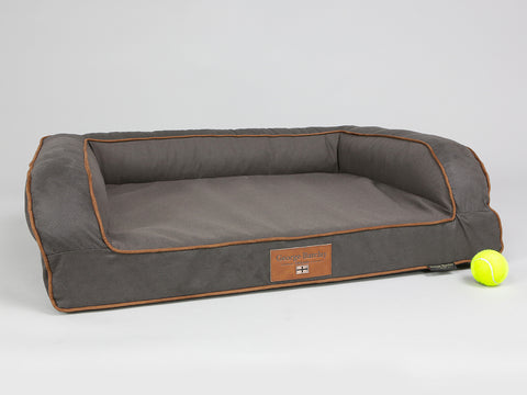Hursley Sofa Bed - Chocolate / Chestnut, Medium - 90 x 65 x 22cm