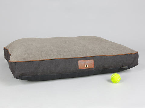 Hyde Dog Mattress - Espresso / Latte, Large