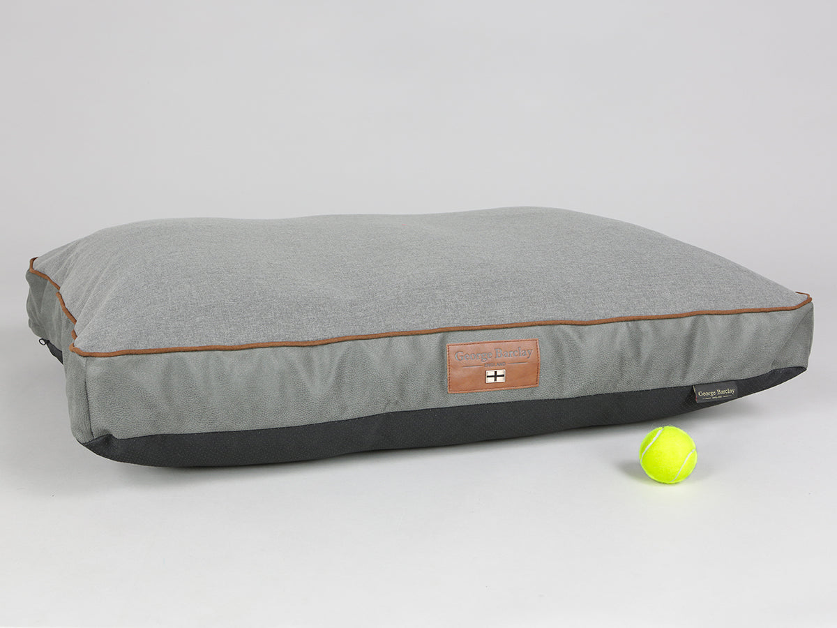 Beckley Mattress Bed - Pewter / Ash, Large - 100 x 70 x 10cm