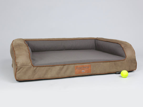 Monxton Sofa Bed - Cocoa / Chestnut, Large - 120 x 75 x 27cm