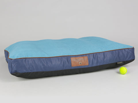Beckley Dog Mattress - Deluxe Edition - Aquamarine, X-Large