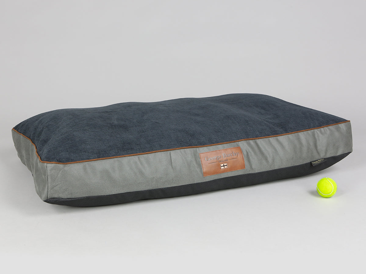 Beckley Mattress Bed - Pewter / Anthracite, X-Large - 120 x 80 x 12cm