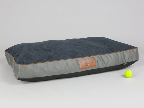 Beckley Dog Mattress - Pewter / Anthracite, X-Large