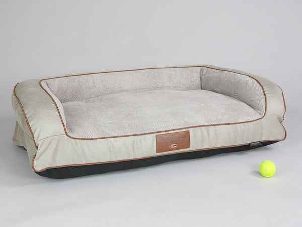 Selbourne Dog Sofa Bed - Taupe, Large