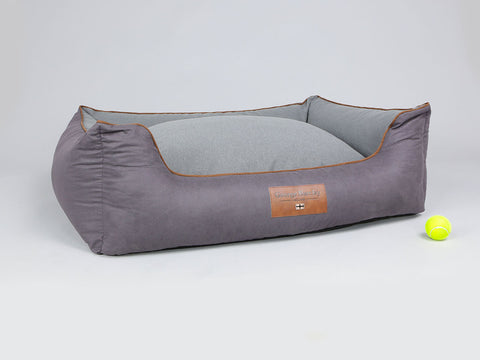 Hursley Orthopaedic Walled Dog Bed - Vineyard / Ash, X-Large