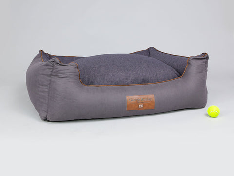 Hursley Orthopaedic Walled Dog Bed - Vineyard / Violet, X-Large