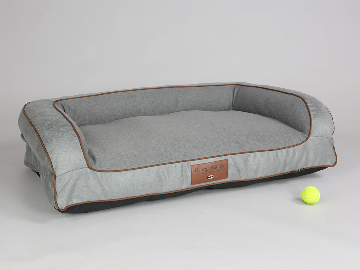 Selbourne Dog Sofa Bed - Fossil / Ash, Large