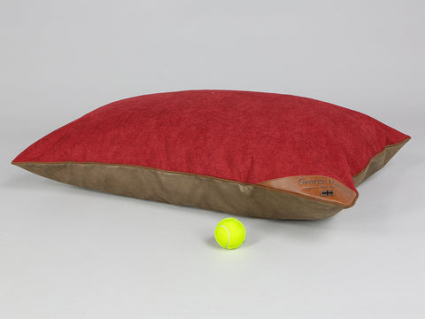 Ashurst Orthopaedic Pillow Pet Bed - Cherry, Large