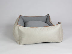 Selbourne Orthopaedic Walled Dog Bed - Taupe / Ash, X-Large