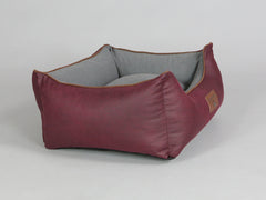 Exbury Orthopaedic Walled Dog Bed - Chianti / Ash, Small