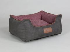 Exbury Orthopaedic Walled Dog Bed - Espresso / Chianti, Small