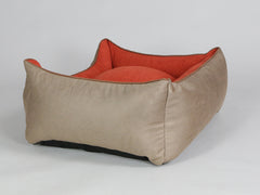 Selbourne Orthopaedic Walled Dog Bed - Ginger / Ember, Medium