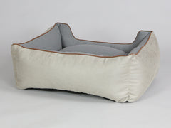 Selbourne Orthopaedic Walled Dog Bed - Taupe / Ash, Medium