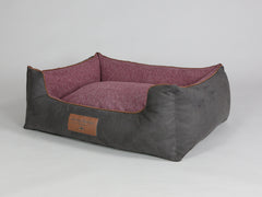 Exbury Orthopaedic Walled Dog Bed - Espresso / Chianti, Large