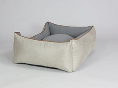 Selbourne Orthopaedic Walled Dog Bed - Taupe / Ash, Large