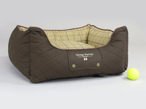 Country Orthopaedic Box Bed - Chestnut Brown, Small - 60 x 50 x 27cm