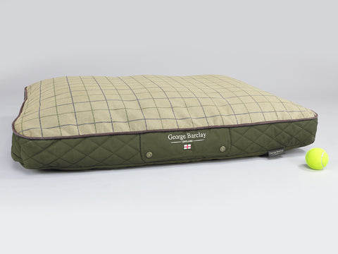 Country Dog Mattress - Olive Green, Large
