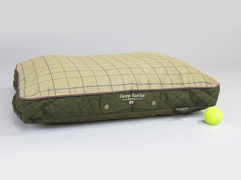Country Mattress Bed - Olive Green, Medium - 80 x 60 x 8cm