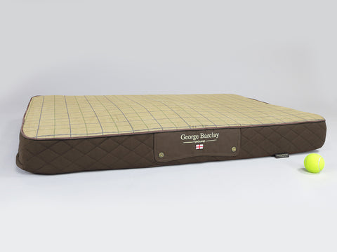 Country Dog Mattress - Chestnut Brown, X-Large
