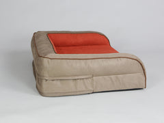 Selbourne Dog Sofa Bed - Ginger / Ember, Medium