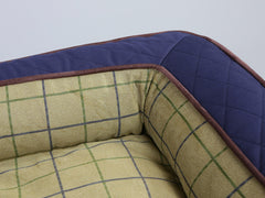 Country Sofa Bed - Midnight Blue, Large - 120 x 75 x 27cm