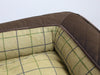 Country Sofa Bed - Chestnut Brown, Medium - 90 x 65 x 22cm