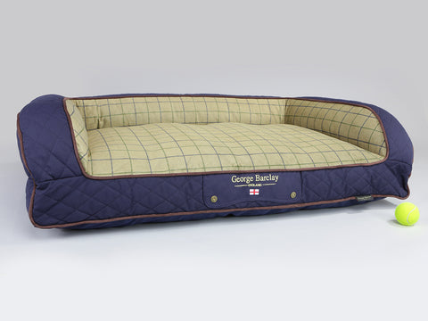 Country Dog Sofa Bed - Midnight Blue, Large