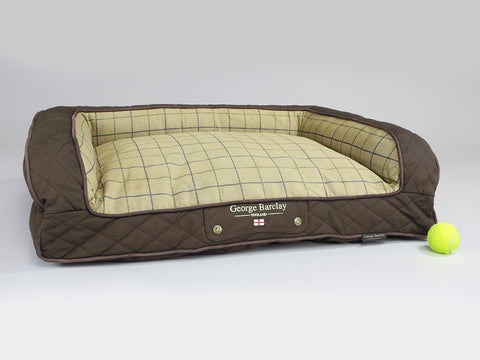 Country Dog Sofa Bed - Chestnut Brown, Medium