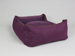 Exbury Orthopaedic Walled Dog Bed - Deluxe Edition - Blackberry, Large