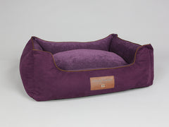 Exbury Orthopaedic Box Bed - Deluxe Edition - Blackberry, Large - 90 x 70 x 33cm