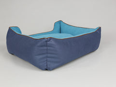 Beckley Orthopaedic Box Bed - Deluxe Edition - Aquamarine, Large - 90 x 70 x 33cm