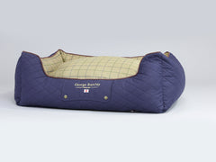Country Orthopaedic Walled Dog Bed - Midnight Blue, Large