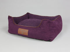 Exbury Orthopaedic Box Bed - Deluxe Edition - Blackberry, Medium - 75 x 60 x 30cm
