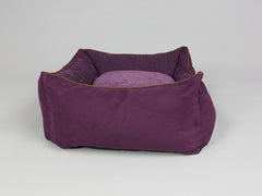 Exbury Orthopaedic Walled Dog Bed - Deluxe Edition - Blackberry, Medium