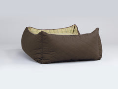 Country Orthopaedic Box Bed - Chestnut Brown, Medium - 75 x 60 x 30cm