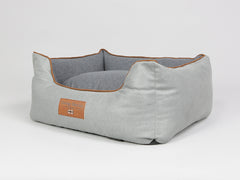 Selbourne Orthopaedic Walled Dog Bed -  Fossil / Charcoal, Small