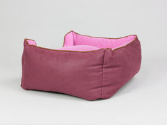 Selbourne Box Bed - Grape / Fuchsia, Small - 60 x 50 x 27cm