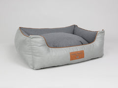 Selbourne Orthopaedic Box Bed - Fossil / Charcoal, Large - 90 x 70 x 33cm