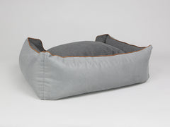 Selbourne Orthopaedic Box Bed - Silver / Iron, Large - 90 x 70 x 33cm