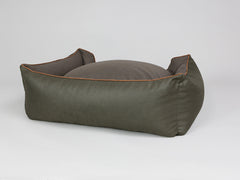 Beauworth Orthopaedic Box Bed - Coffee Bean, Large - 90 x 70 x 33cm