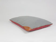 Hursley Orthopaedic Pillow Bed - Cabernet / Ash, Large - 100 x 70cm