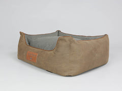Monxton Orthopaedic Box Bed -  Cocoa / Deep Bronze, Medium - 75 x 60 x 30cm