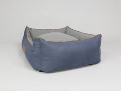 Monxton Orthopaedic Box Bed - Twilight / Ash, Large - 90 x 70 x 33cm